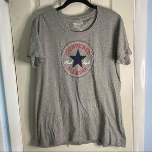 Gray Converse Tee Shirt